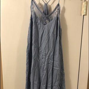 Dresses & Skirts - Baby blue Charlotte Russe float dress